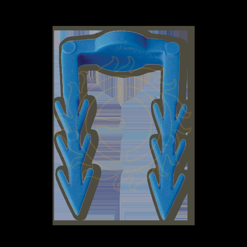 Příchytka kabelu velká/modrá (bal. 50ks)