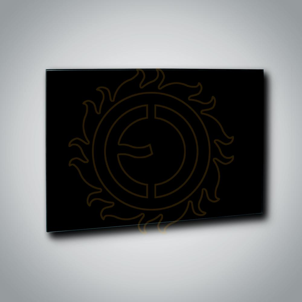 Sálavý panel GR 500 Black