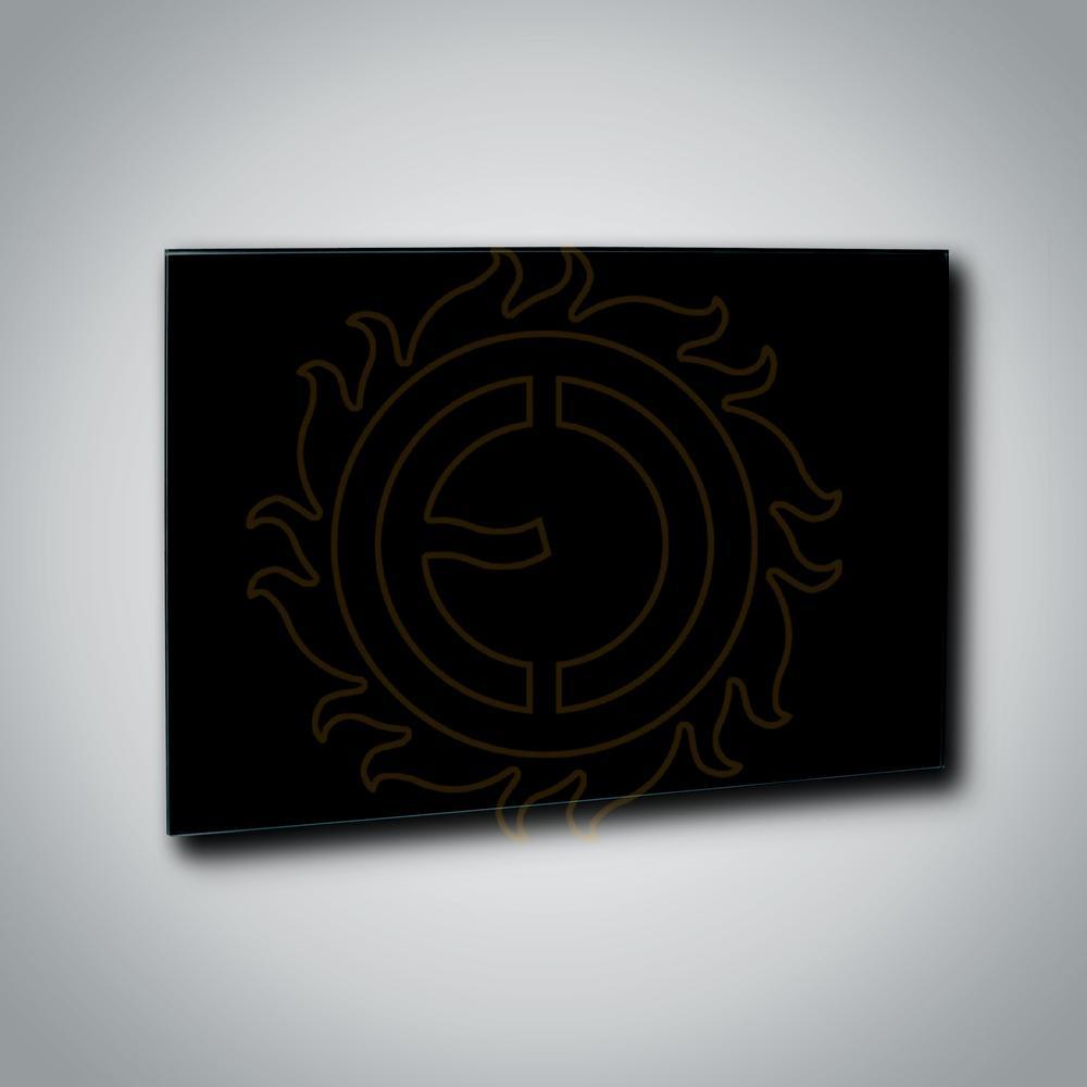 Sálavý panel GR 900 Black