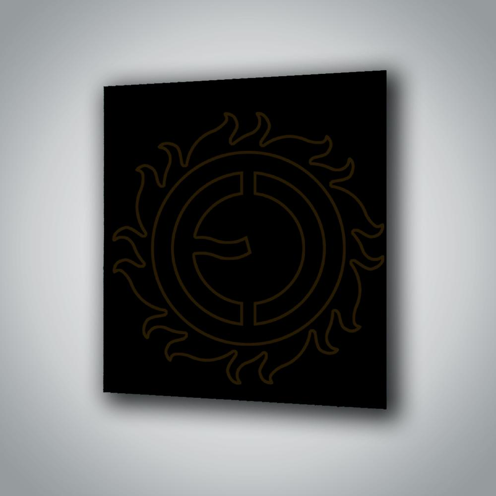 Sálavý panel ECOSUN 300 GS Black