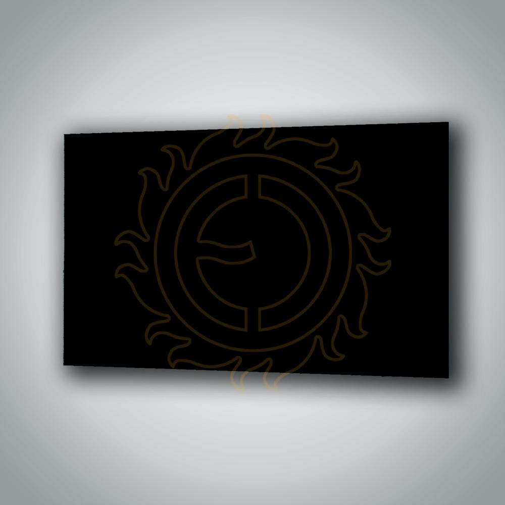 Sálavý panel ECOSUN 600 GS Black
