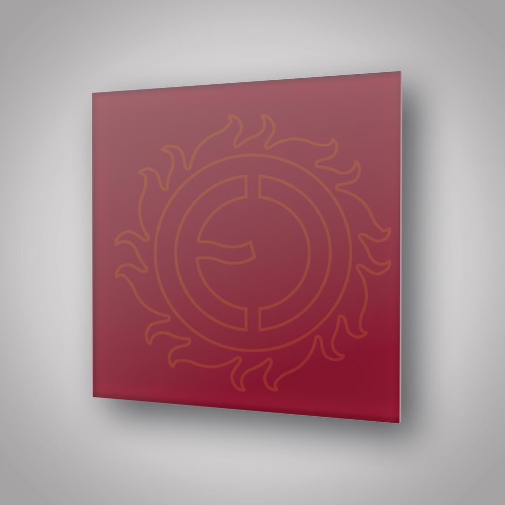 Sálavý panel ECOSUN 300 GS Wine Red