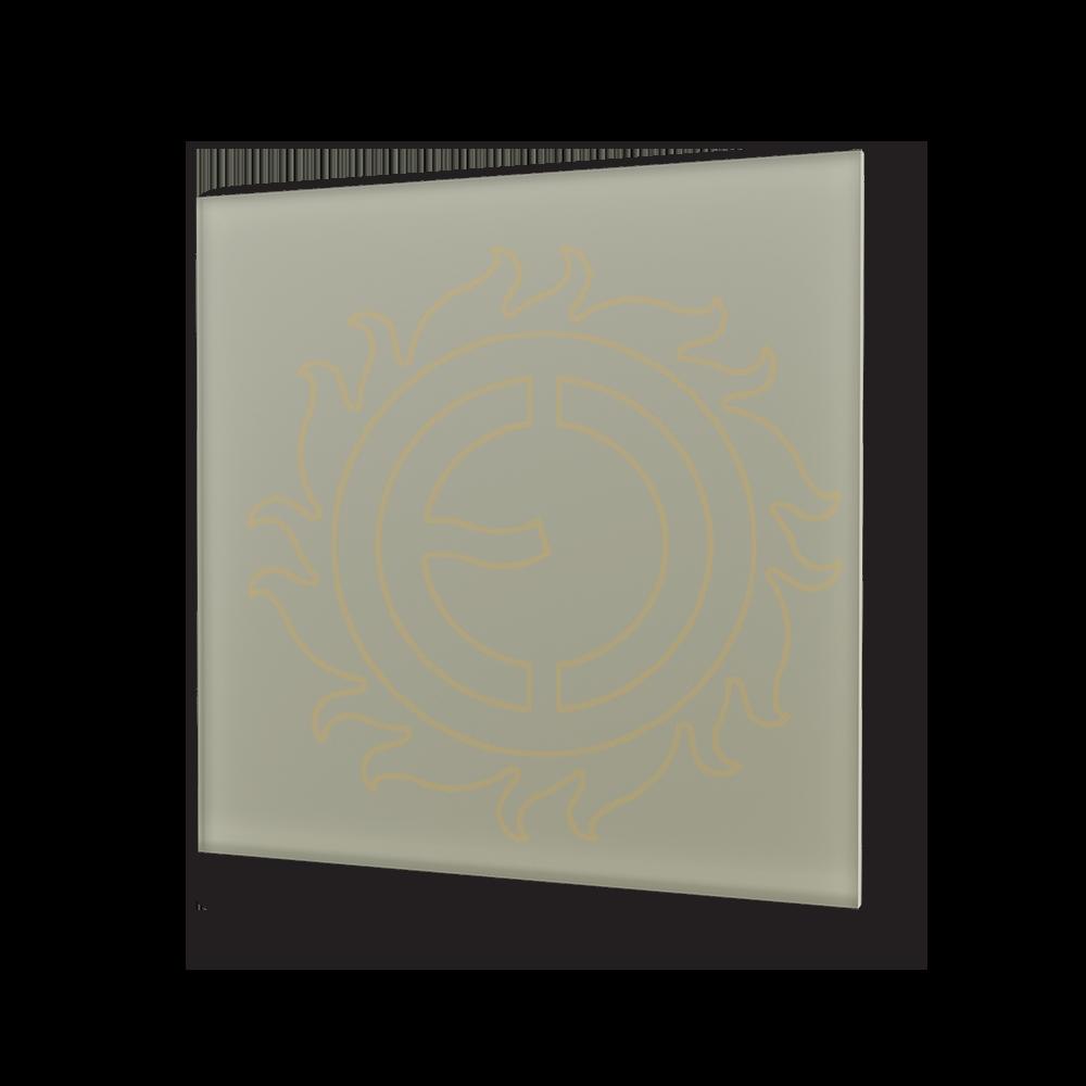 Sálavý panel ECOSUN 300 GS Basalt