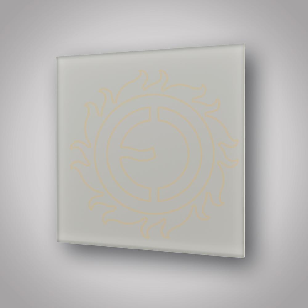 Sálavý panel ECOSUN 300 GS Platinum Grey