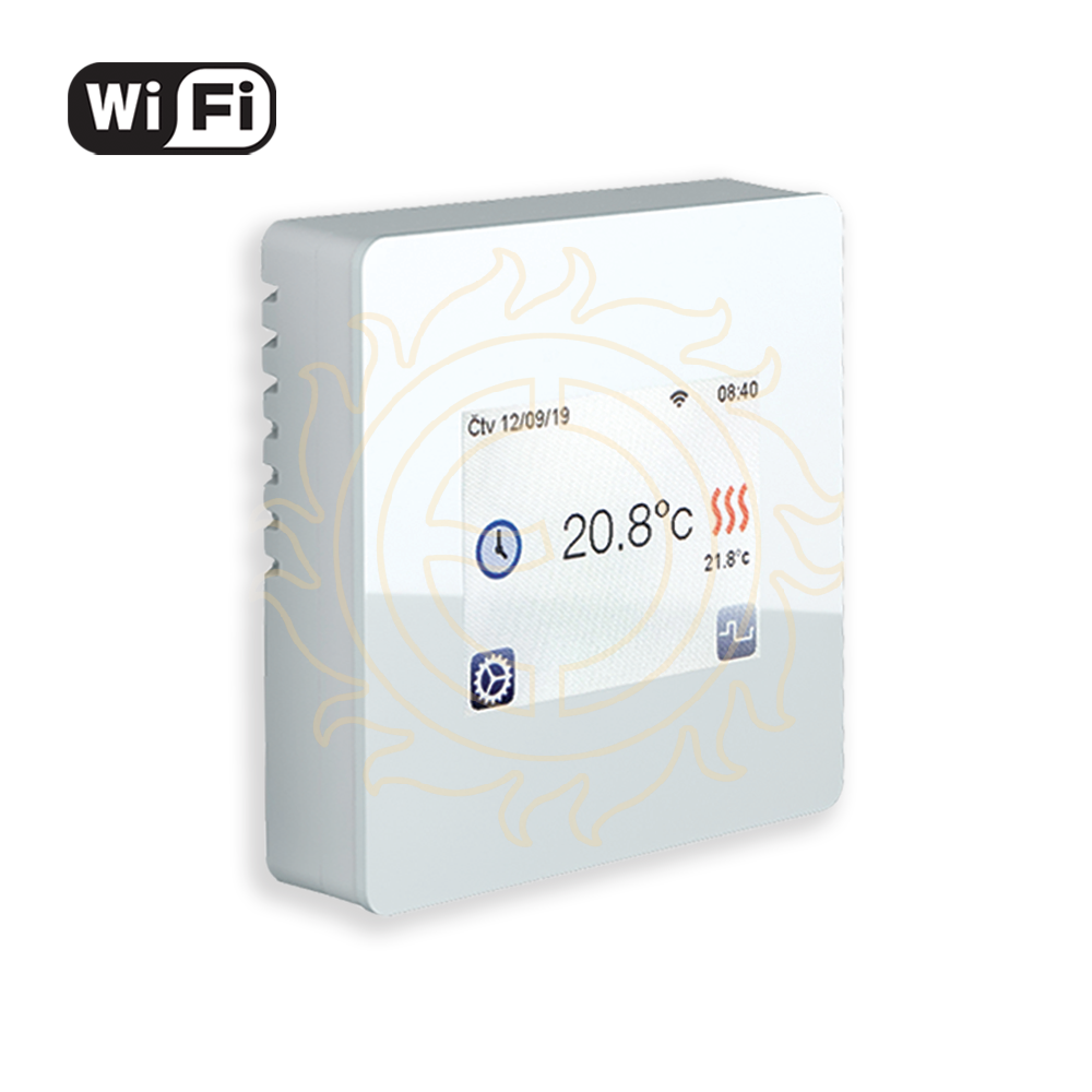 Termostat TFT Wifi (white)